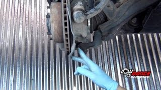 Ball Joint Replacement on an 02 Toyota Tacoma