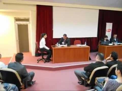 Mülakat Teknikleri Semineri (Tiyatral Mülakat - Çivril Atasay Kamer Meslek Yüksekokulu)