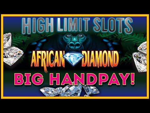 JACKPOT BIG HANDPAY ✦ African Diamond WIN