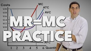 Micro 3.7 MR = MC Practice: Econ Concepts in 60 Seconds for Advanced Placement Microeconomics