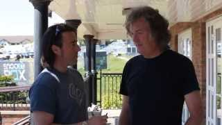 Chad speaks to James May at the TT - now with IMPROVED AUDIO! | Interviews | Motorcyclenews.com