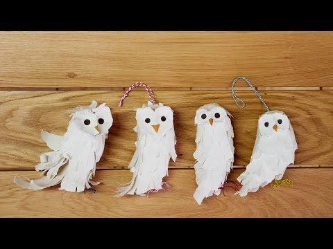 How To Make a Paper Owl