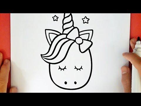 Come Disegnare Un Unicorno Kawaii Youtube