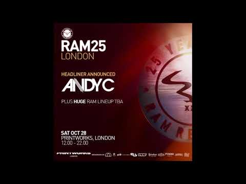Andy C @ 25 Years Of Ram Records, Printworks London - 28.10.2017