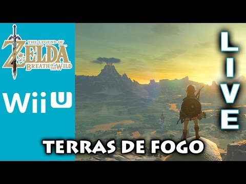 The Legend of Zelda: Breath of the Wild Gameplay #8 -Arredores da Death Montain [LIVE]