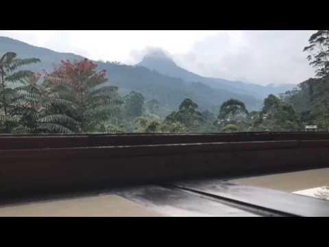 Timelapse of Adam's Peak Mountain Sri-Lanka