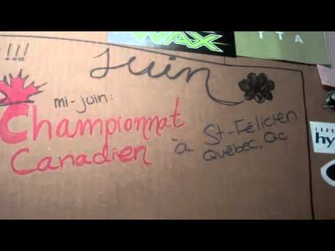 Andréane Lanthier-Nadeau Vidé-blog no1 - Alliance Sport-Études