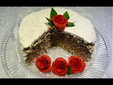 Brza torta od slatke pavlake sa napolitankama i jafa keksom