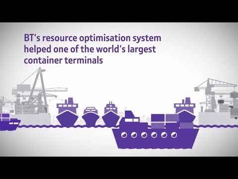 How BT helps global logistics operators