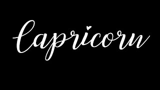 CAPRICORN MID AUGUST~ They Have Alot of Love For You Capricorn.. Love is Still in The Air Here..