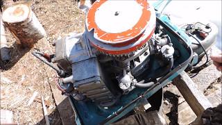 Лодочный мотор Привет 22, после трехгодовалой спячки.