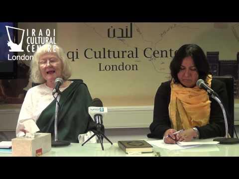 Dr. Ann Coxon at the Iraqi Cultural Centre in London