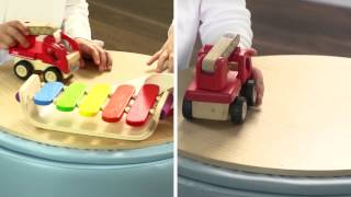Hip Kids Store & Play Toy Boxes | Storage Toy Box