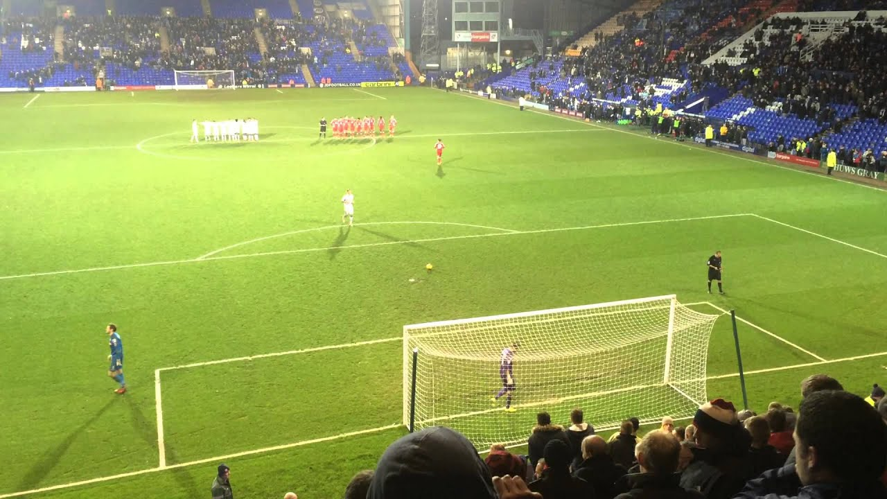 Tranmere Rovers 2-2 Walsall (JPT) - Penalties - YouTube