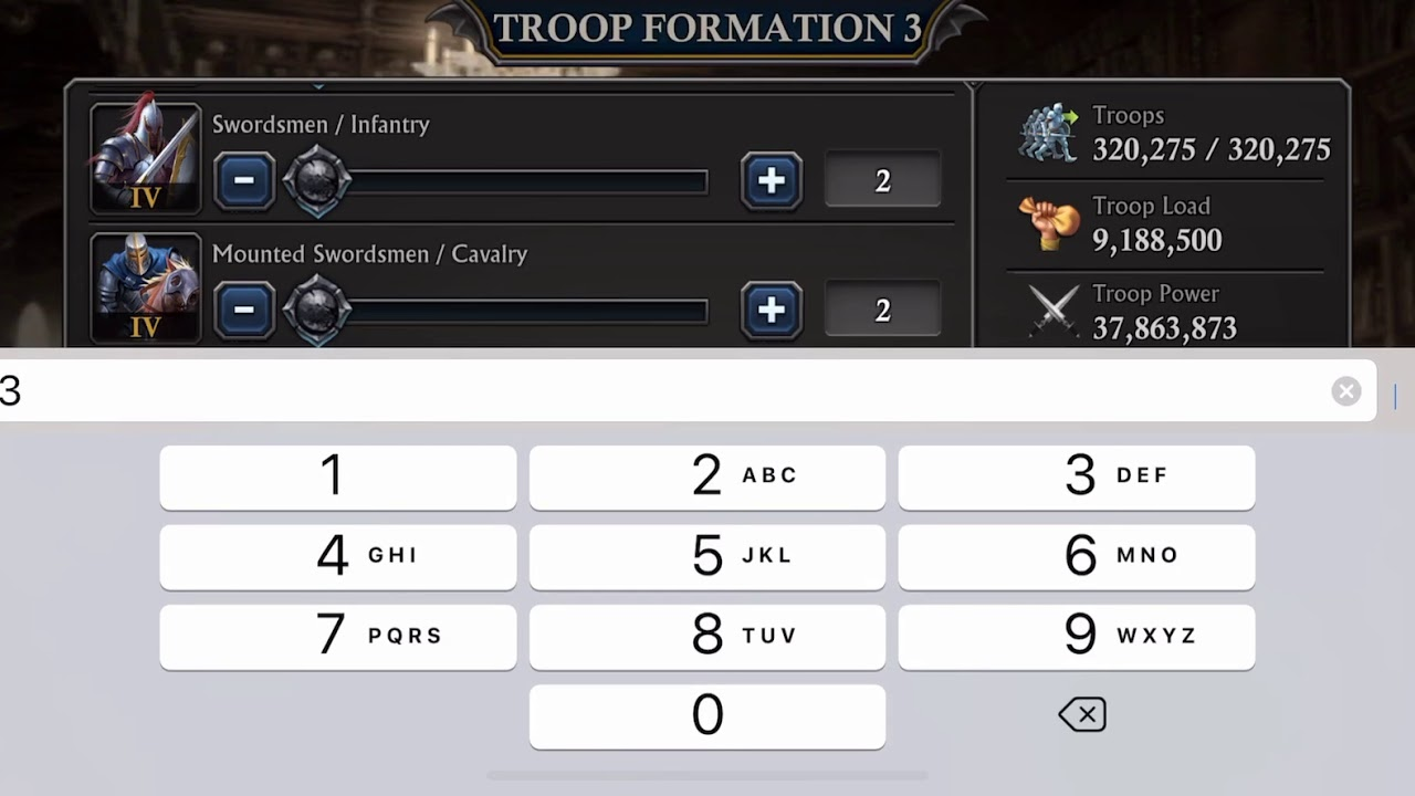 Troop Formations Talk & PvE Calculator Going Down - King of Avalon / Gun of  Glory / Z-Day
