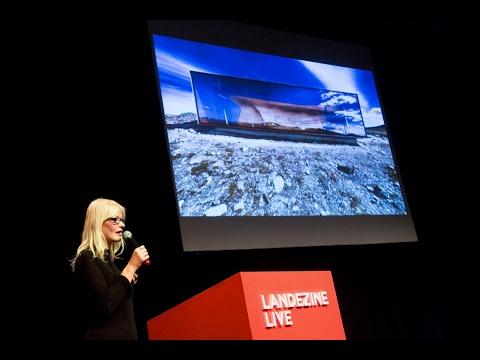 Jenny B. Osuldsen, Snøhetta, at Landezine LIVE 2017