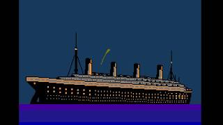 Nes Longplay 871 Titanic Nj031 Unlicensed