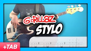 Gorillaz - Stylo | Bass Cover + Live Tabs