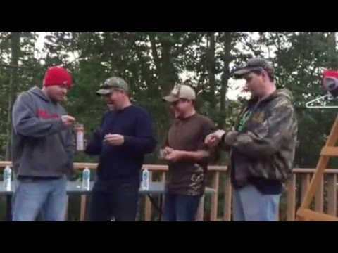 Funny! - Four Country Boys Take on the Cinnamon Challenge