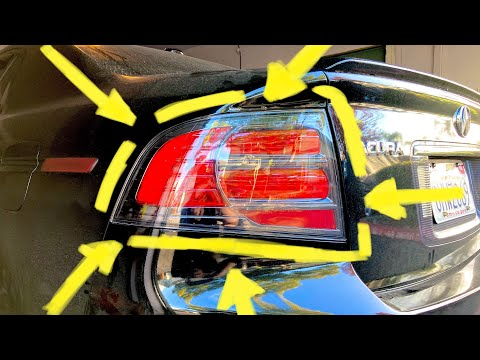 How to Install Type S Tail Lights on Base Acura TL!