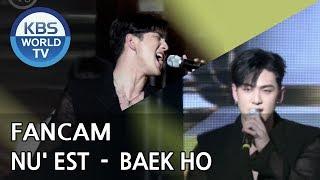 [FOCUSED] NU' EST's BAEKHO - Dejavu[Music Bank / 2018.07.06]