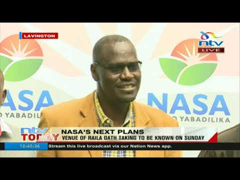 Nasa to go ahead with Raila Odinga's swearing in on December 12th
