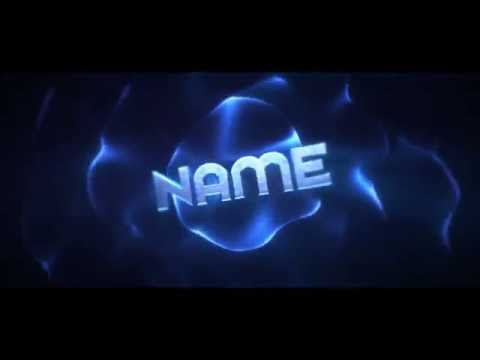 Free 3D Blue Chill Intro Template: Cinema 4D / After Effects