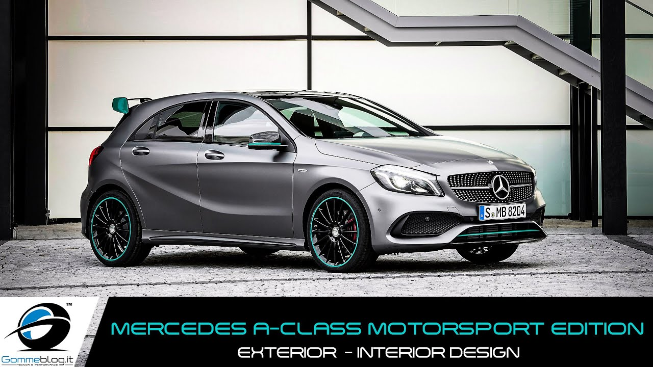 mercedes a class motorsport edition exterior interior design youtube. Black Bedroom Furniture Sets. Home Design Ideas
