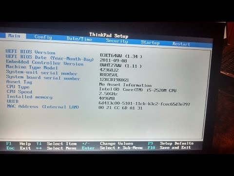 How to change serial number,type,model, Lenovo thinkpad t440, :Invalid Serial Number Error Displays: