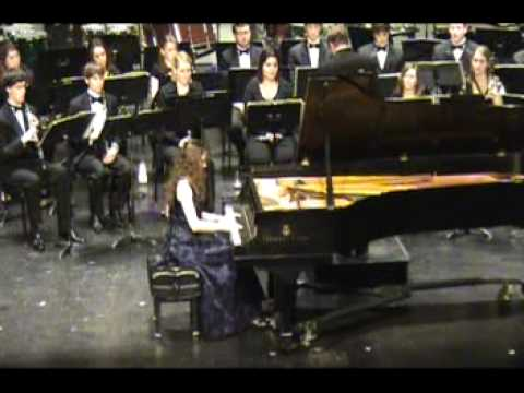 Stravinsky - Piano Concerto - Anastasia Seifetdinova (2/3)