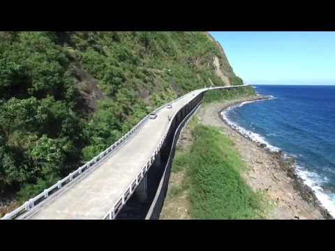 Patapat Viaduct, Pagudpud, Ilocos Norte, Philippines