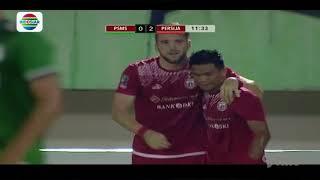 Piala Presiden 2018: Goal Marko Simic PSMS Medan (0) vs Persija Jakarta (2)