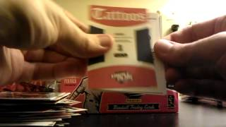 2012 Panini Triple Play Baseball Cards Box Break