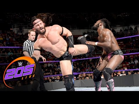 Rich Swann & TJ Perkins vs. Neville & The Brian Kendrick: WWE 205 Live, Dec. 20, 2016
