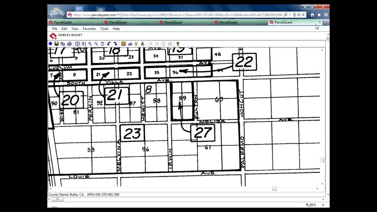 Reading A Parcel Map YouTube - Los angeles assessor map