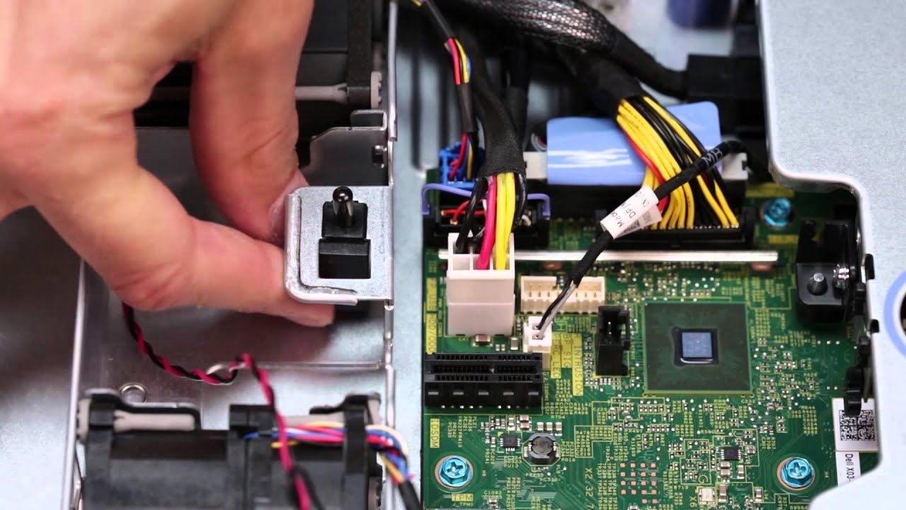 PowerEdge R330: Remove/Install Intrusion Switch