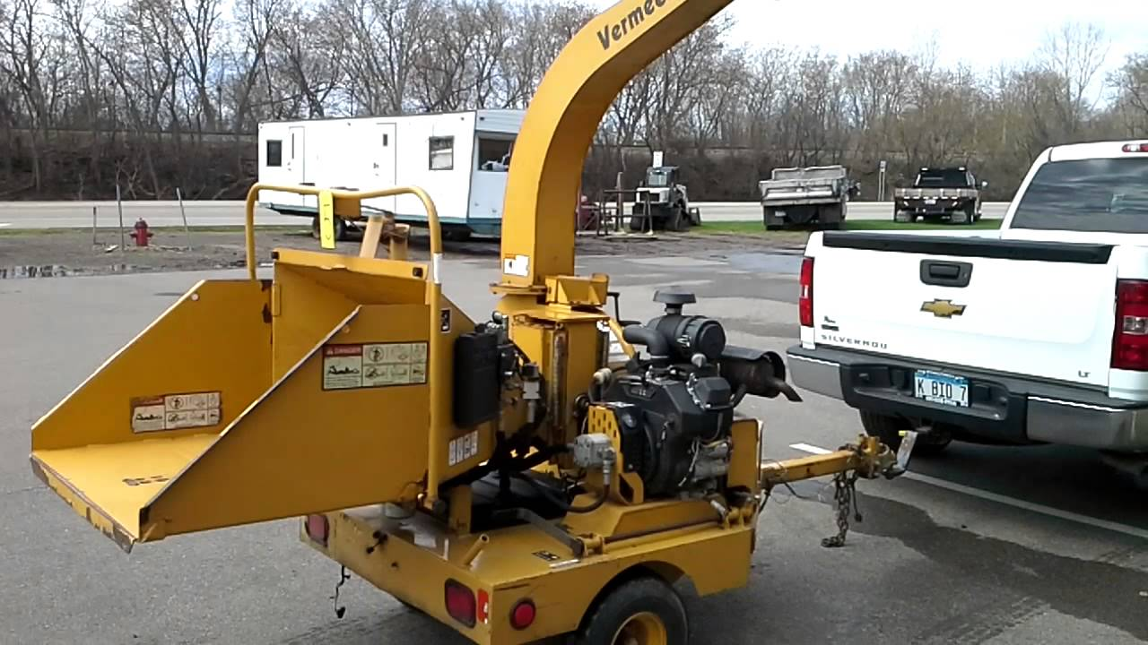 Vermeer Commercial Wood Chipper, Model BC625A