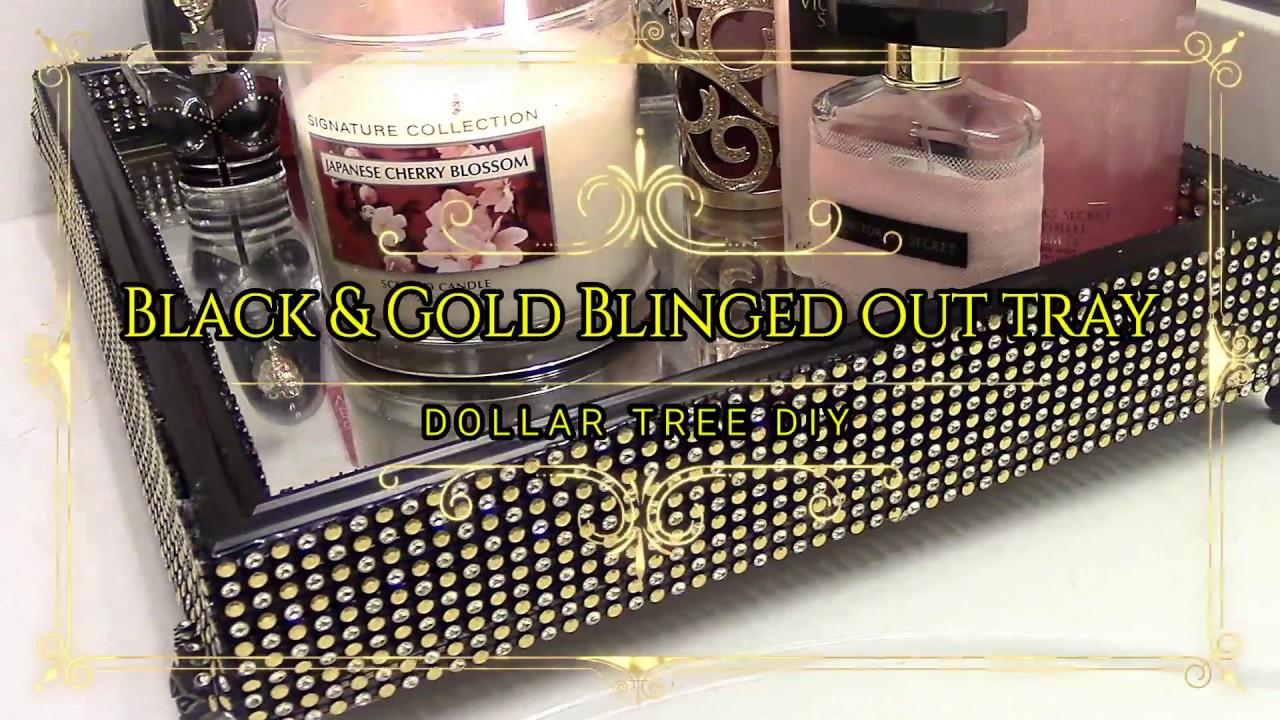 Gold Mirror Vanity