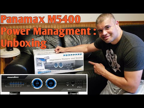 Panamax M5400 Power Managment : Unboxing