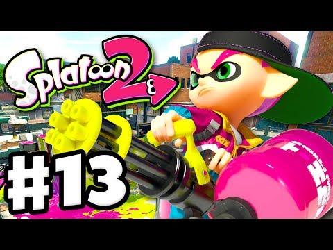 Splatoon 2 - Gameplay Walkthrough Part 13 - Splat Zones Rainmaker! (Nintendo Switch)