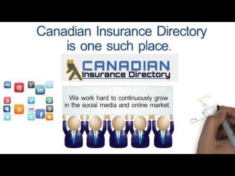 Canadian Insurance Directory for insurance advisors, brokers and insurance companies
