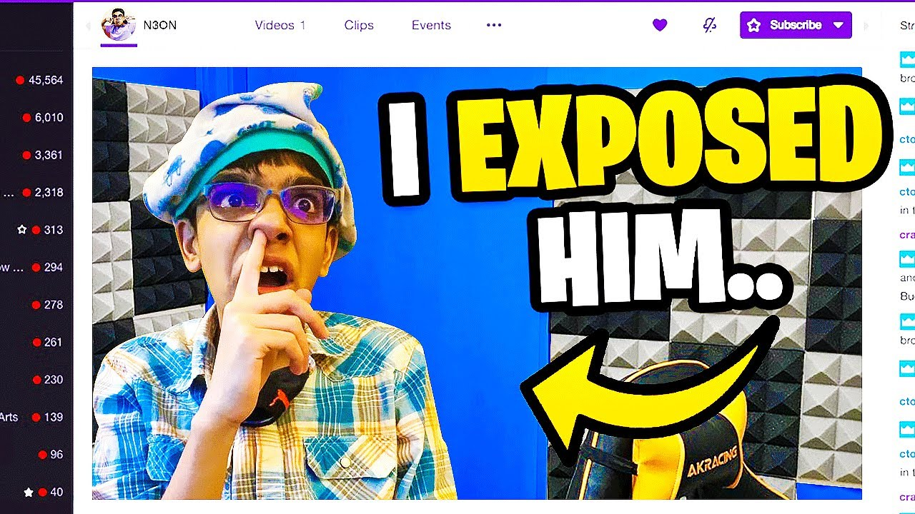 RICH KID Forgot To Turn Off His Fortnite Stream... (EXPOSED)