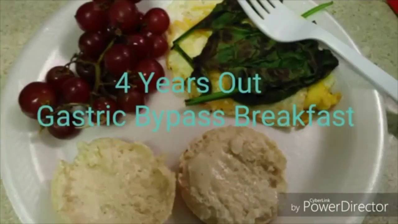 What I Eat Gastric Bypass Breakfast Youtube