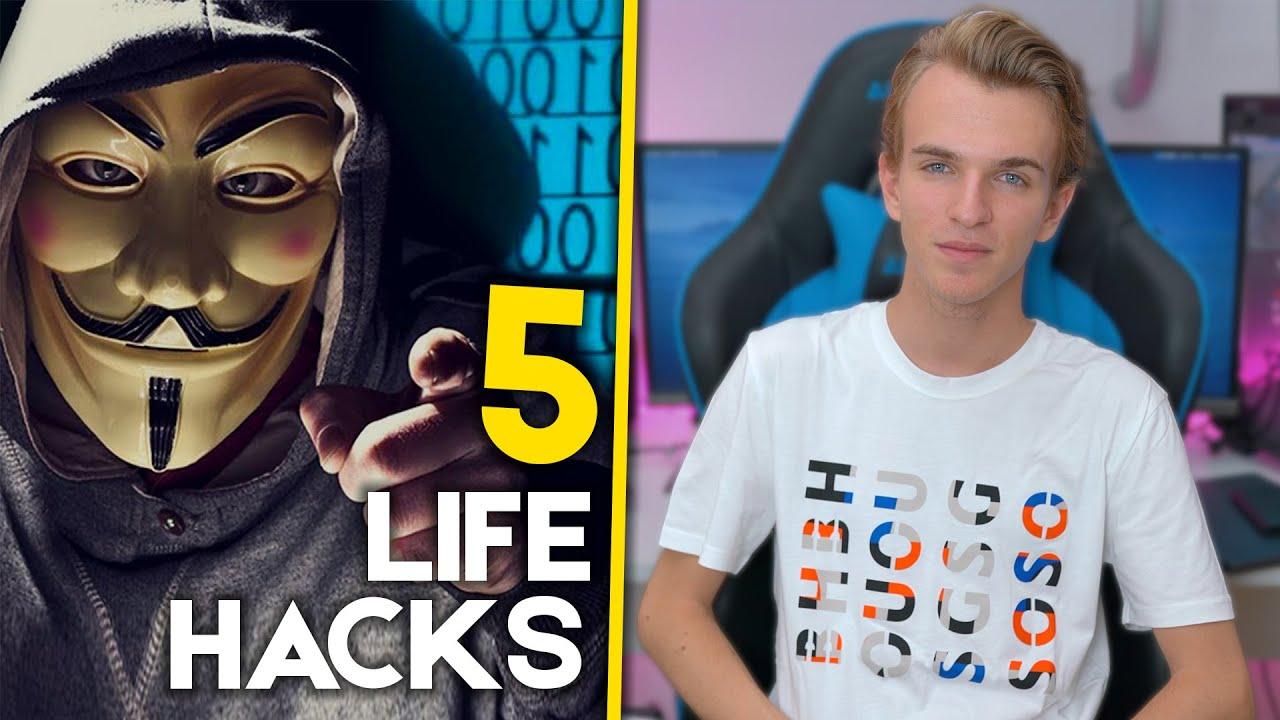 5 LIFE HACKS PER INTERNET