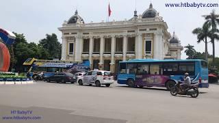 Bus Ha Noi 10 🚌🚌🚌 Wheels On The Bus ❤❤❤ Nursery Rhymes Super Simple Song   HT BabyTV ✔︎