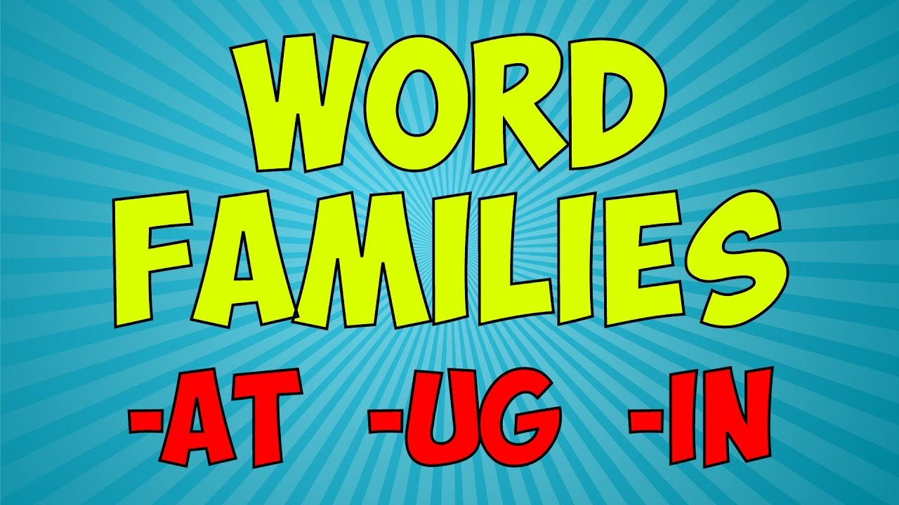 workout with the word families 1 word family song jack hartmann
