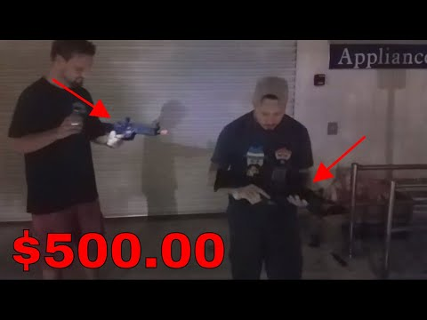 GUN FOUND DUMPSTER DIVING! 100000% REAL! 2 Assault GUN Rifles & More In Garbage