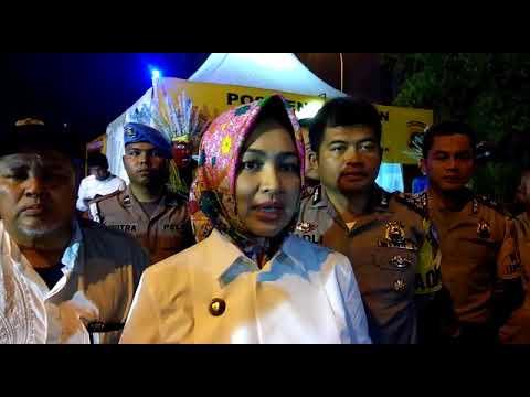 Jelang Tahun Baru 2018 Walikota Tangsel dan Kapolres Pantau Pos Pengamanan Mp3