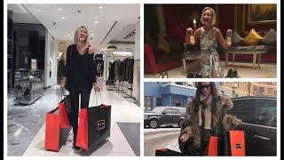 Ольга Бузова покупает себе вещи в Милане