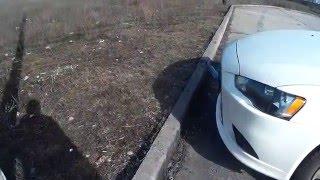Как Почувствовать Габариты Автомобиля - Как Подъехать к Бордюру (Поребрику) - Видеоурок Вождения #12